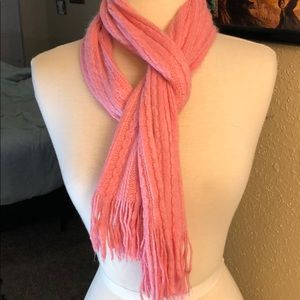 New York and company Pink knit scarf